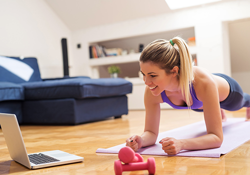 So trainieren Sie effektiv zu Hause